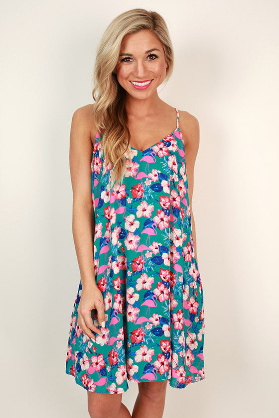 Mojito Madness Shift Dress