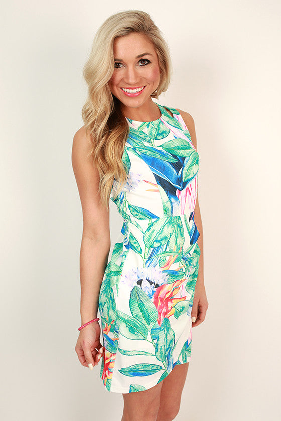 Luau Love Mini Dress