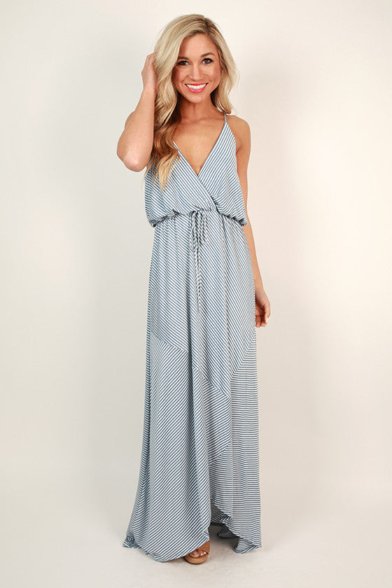 Seaside Stripe Maxi