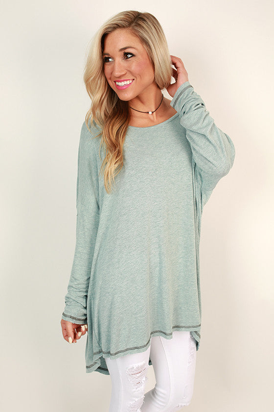 Saturday Style Tunic in Limpet Shell