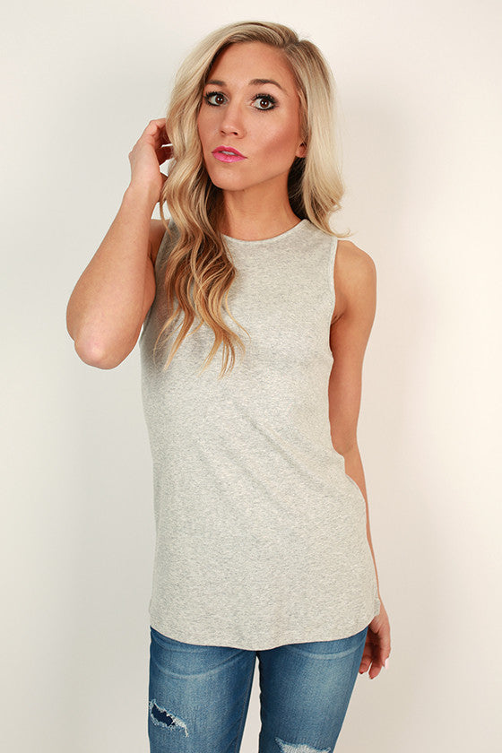 Highland Shift Tank in Grey