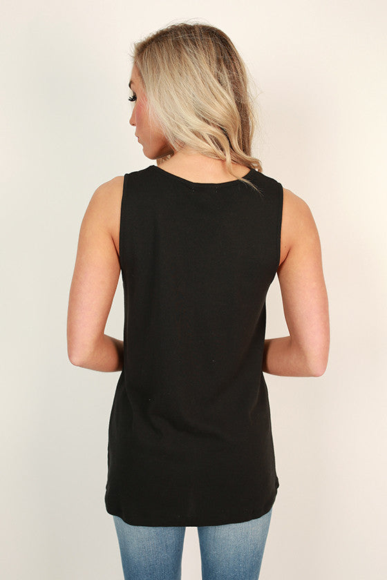 Highland Shift Tank in Black