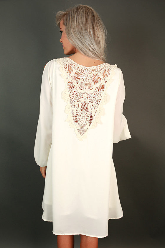 The Greatest Lace Shift Dress