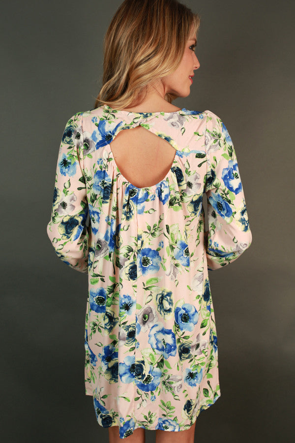 Garden Posh Shift Dress