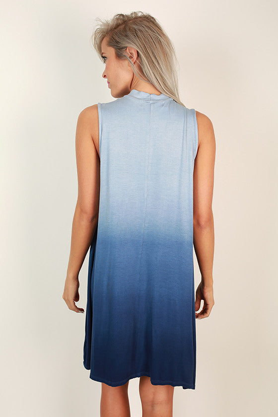 Beach Life Ombre Shift Dress