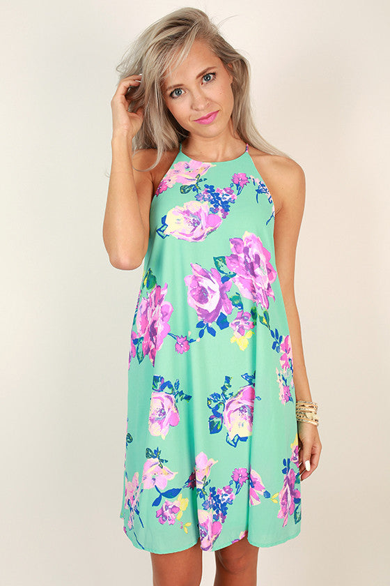 Floral Friendly Shift Dress