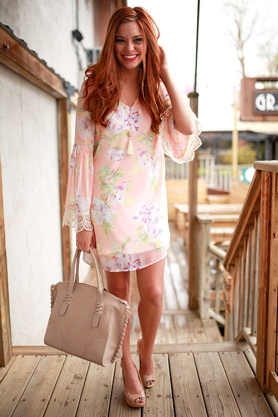 In Full Bloom Shift Dress