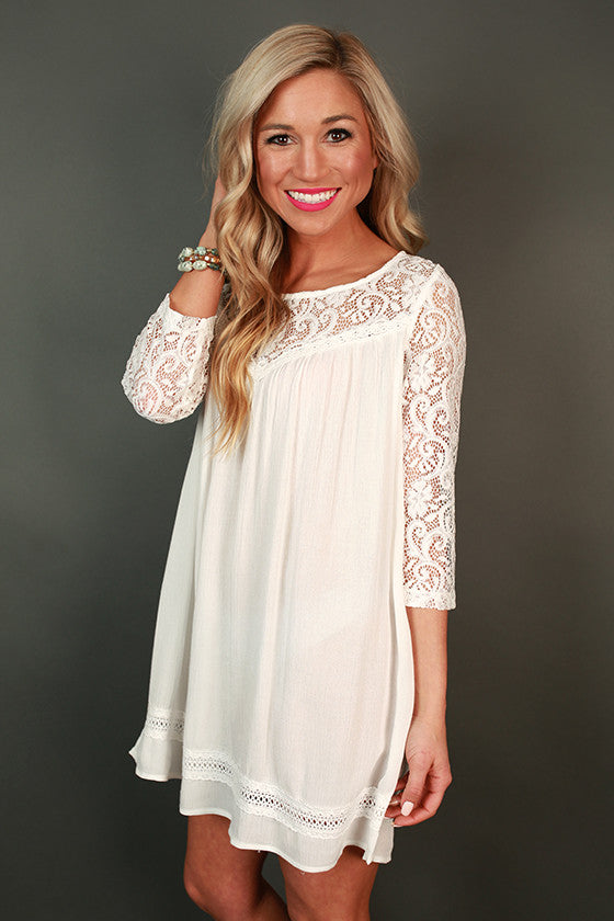 Brunch Swoon Shift Tunic