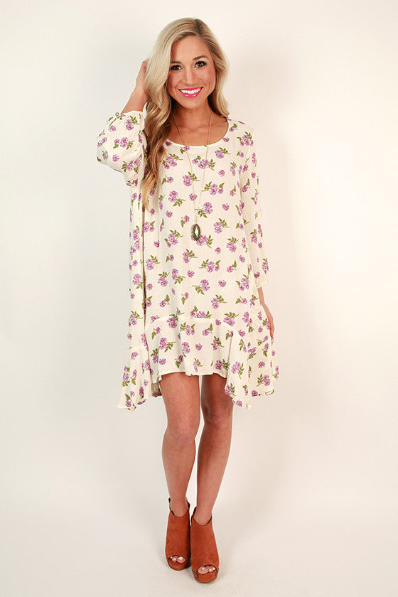 Park Place Floral Pocket Tunic