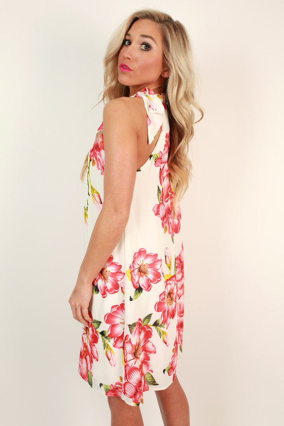 Waterfront Mimosas Floral Shift Dress
