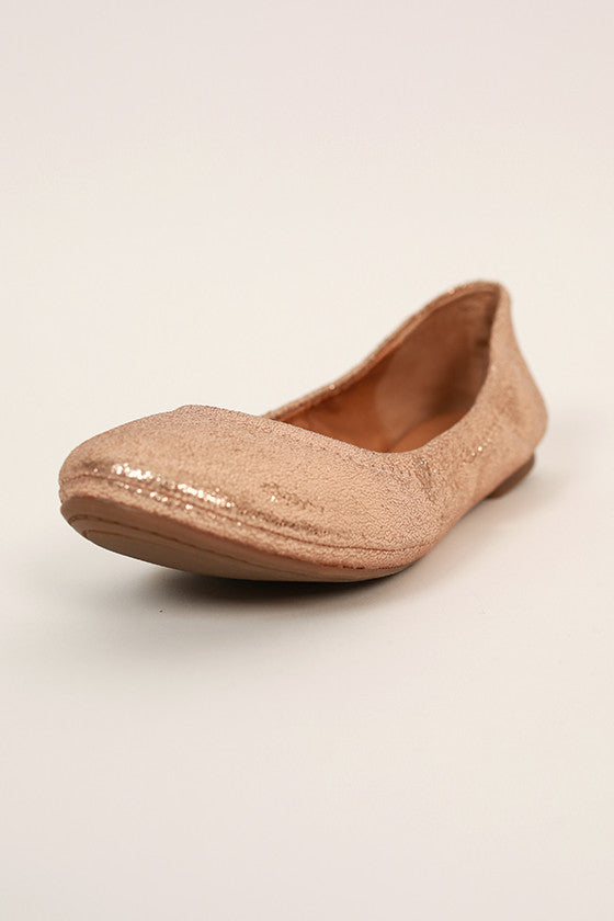 Emmie Flat in Rose Gold