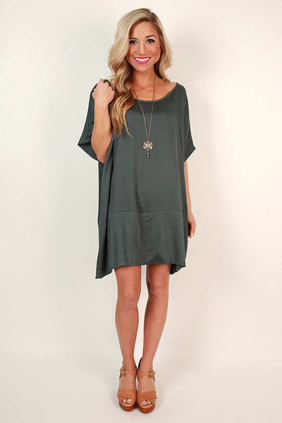 Chic For Days Tunic in Teal