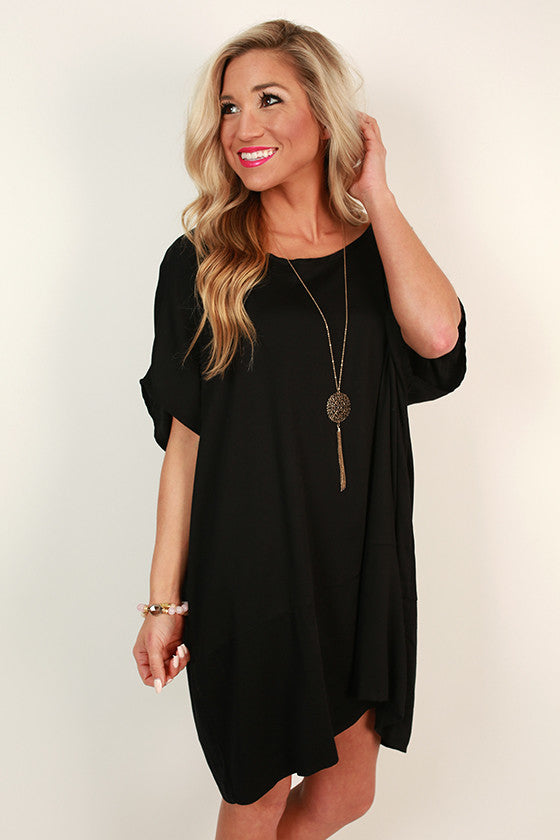 Chic For Days Tunic in Black