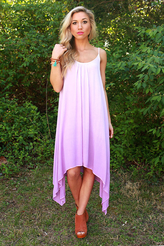 Key West Ombre Dress in Lavender