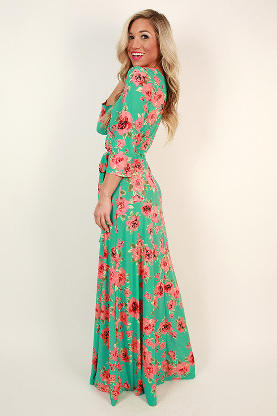 The Fields Of Pretty Maxi in Laguna Floral