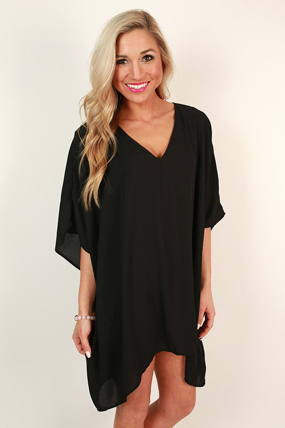 The Harper Tunic In Black