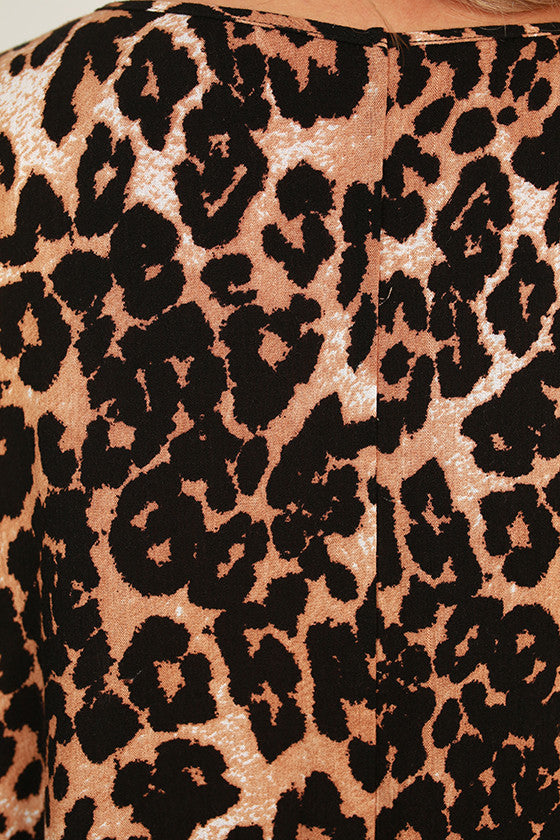 The Harper Tunic In Leopard