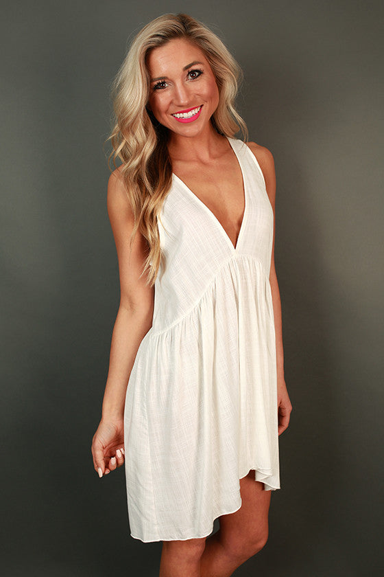 All Mine Baby Doll Tunic in Ivory