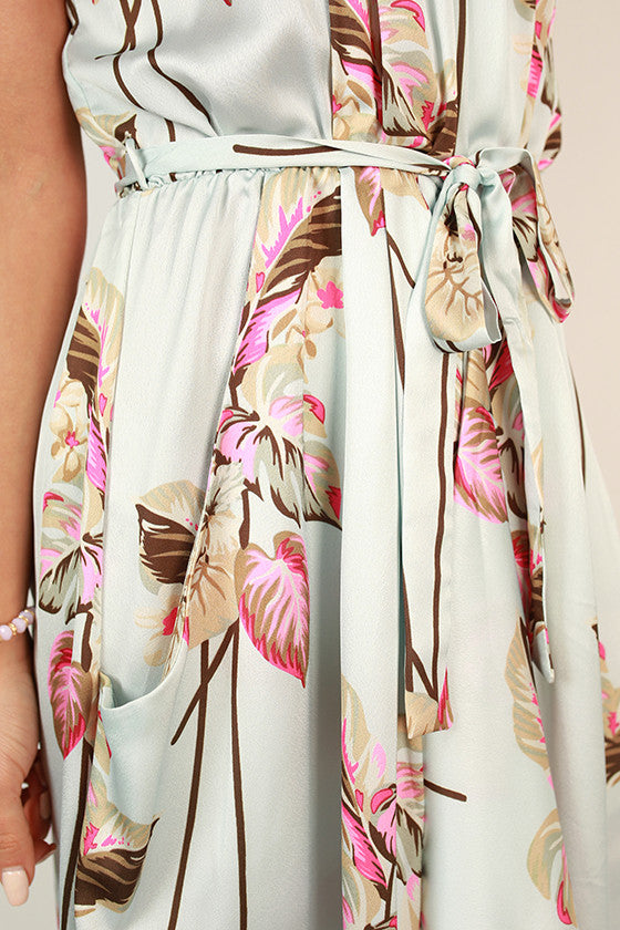 Glam Getaway Floral Dress