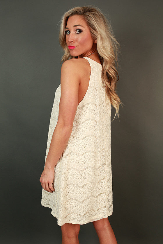 Meet You At Times Square Lace Dress