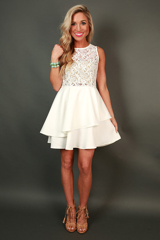 Pop Fizz Clink Fit & Flare Dress