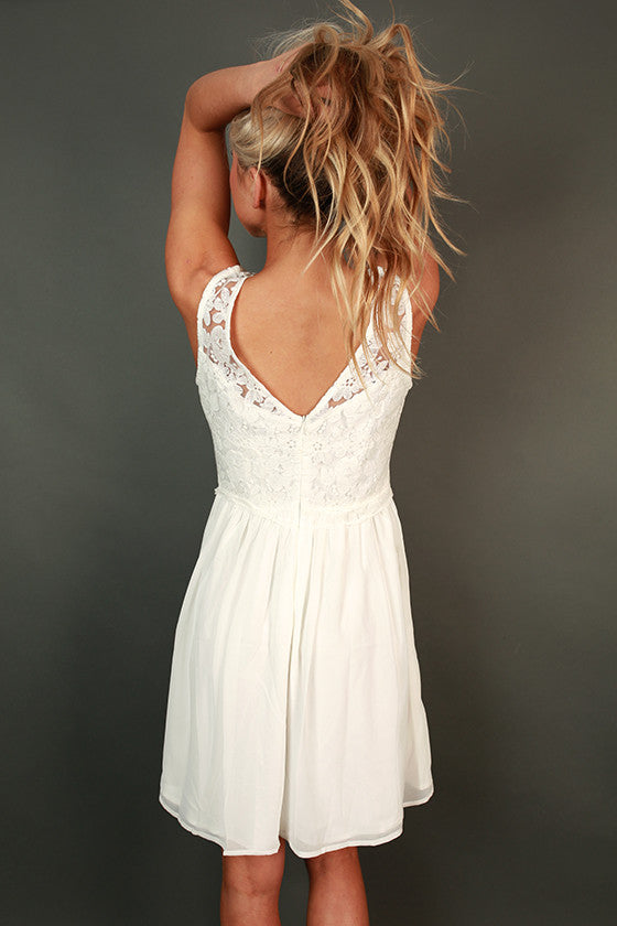 Tea Time Lace Dress