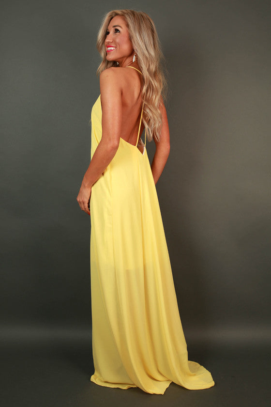 Hey Soul Sister Maxi Dress in Buttercup
