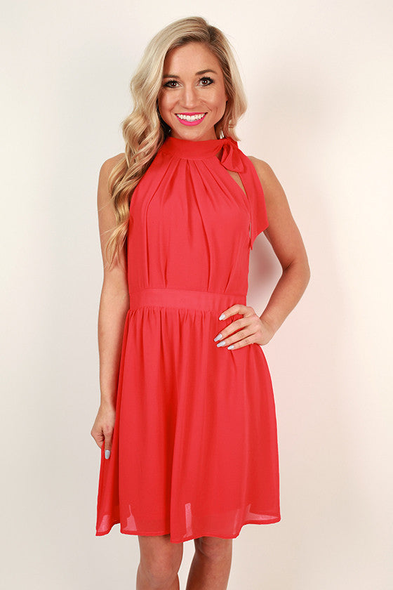 Bows With Bubbly Fit & Flare Dress