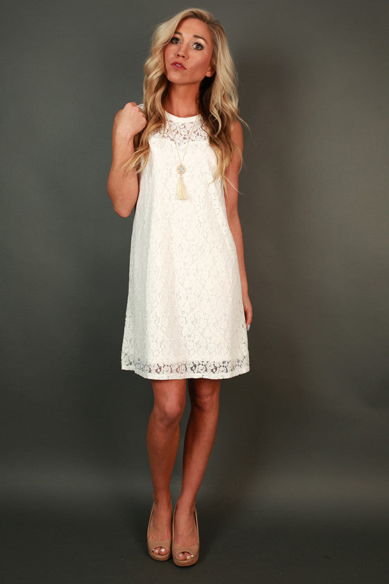 Pretty is as Pretty Does Shift Dress