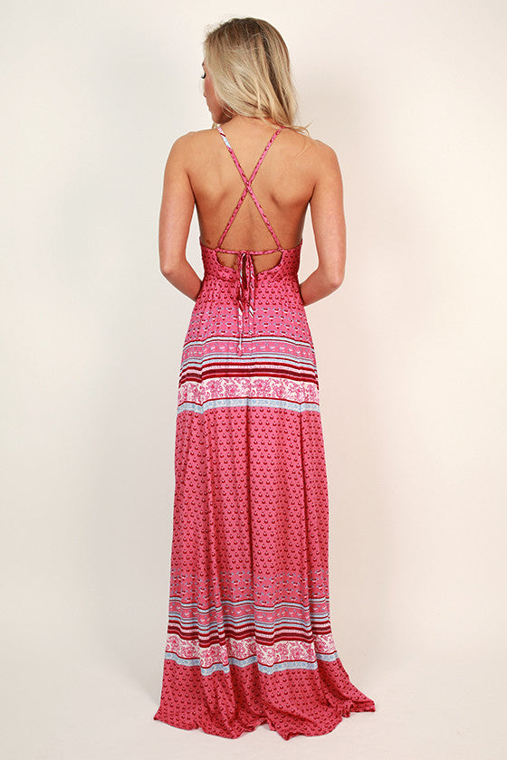 Love is in The Air Maxi Dress