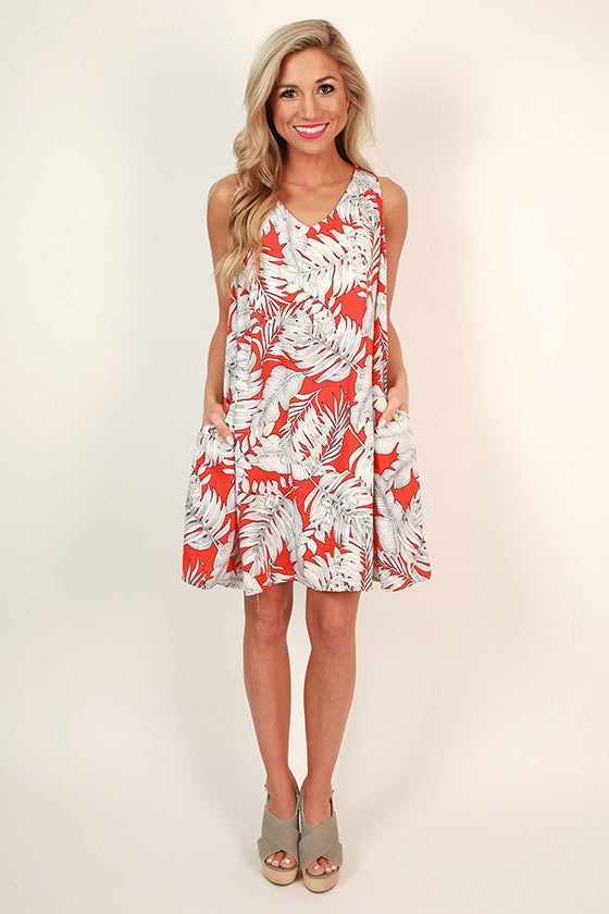 Palm Beach Party Shift Dress