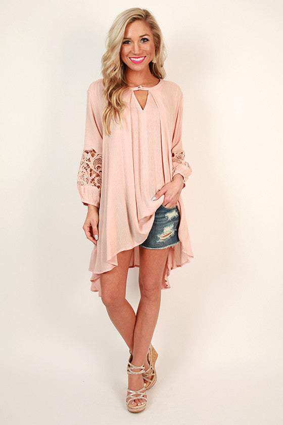 True Love Tunic in Rose Quartz
