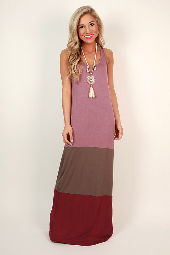 Dreams Come True. Loading... Pin it. Caribbean Calling Color Block Maxi  Dress in Blush 68eecbfb3