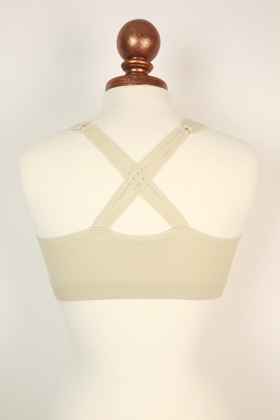 Perfect Fit Racerback Bra in Birch