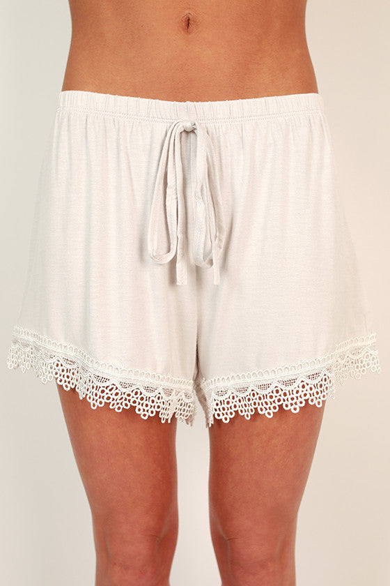 Crochet By The Bay Shorts
