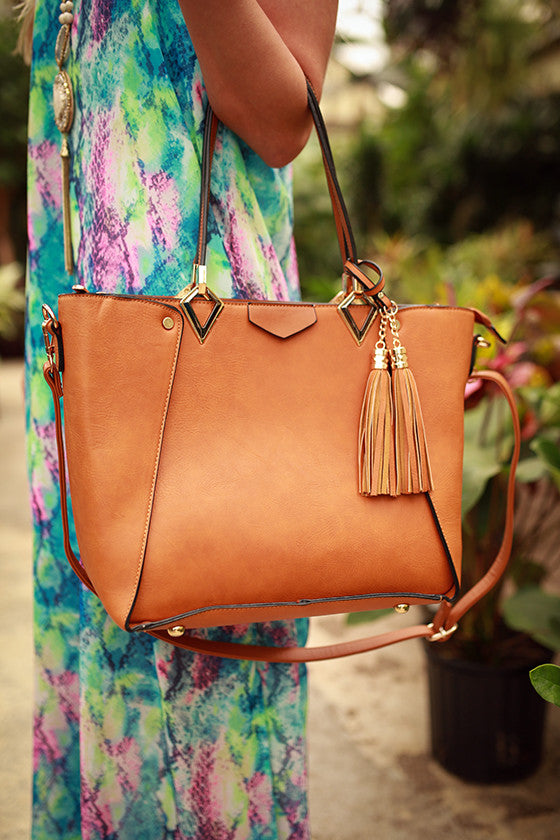Maude in Manhattan Tote in Copper
