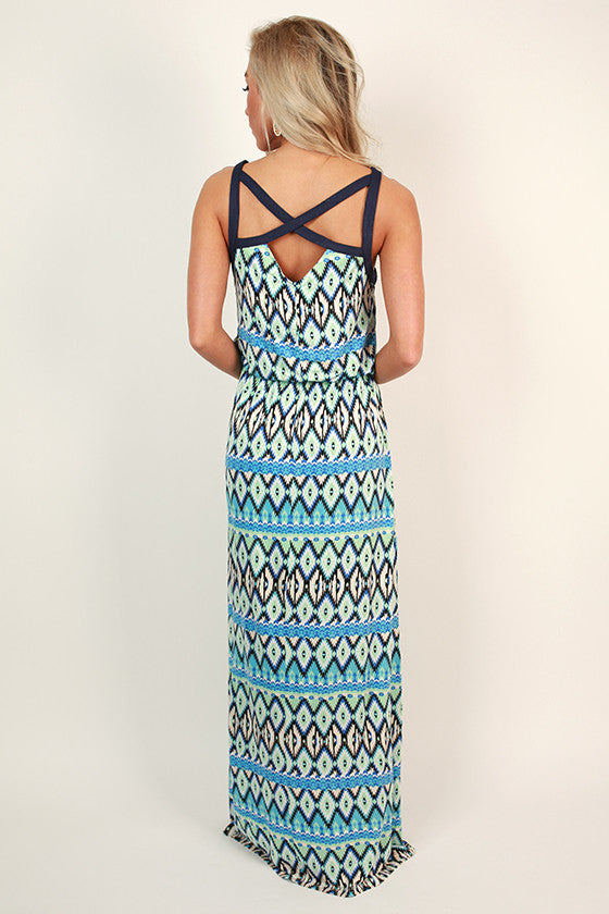 Join The Party Maxi Dress