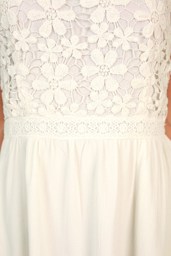 For The Thrill of it Crochet Dress