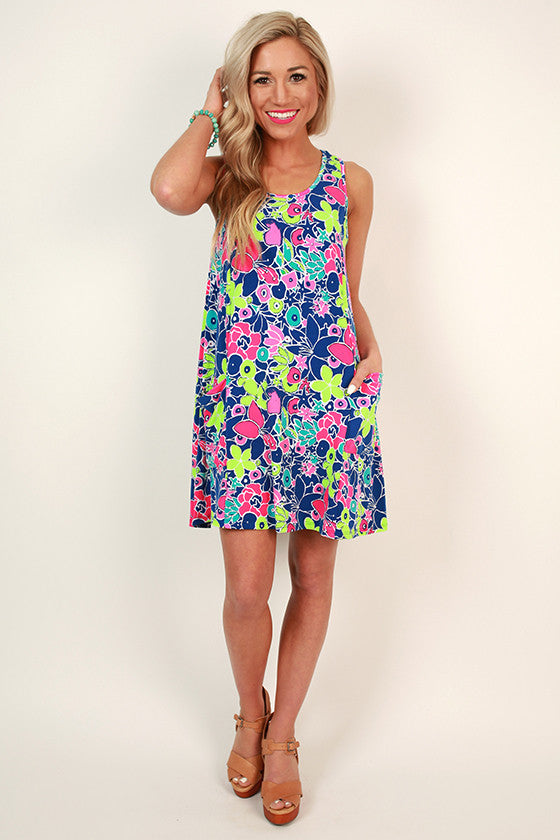 Sweet and Soulful Print Dress