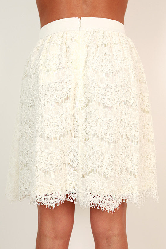 Empire State of Mind Lace Skirt