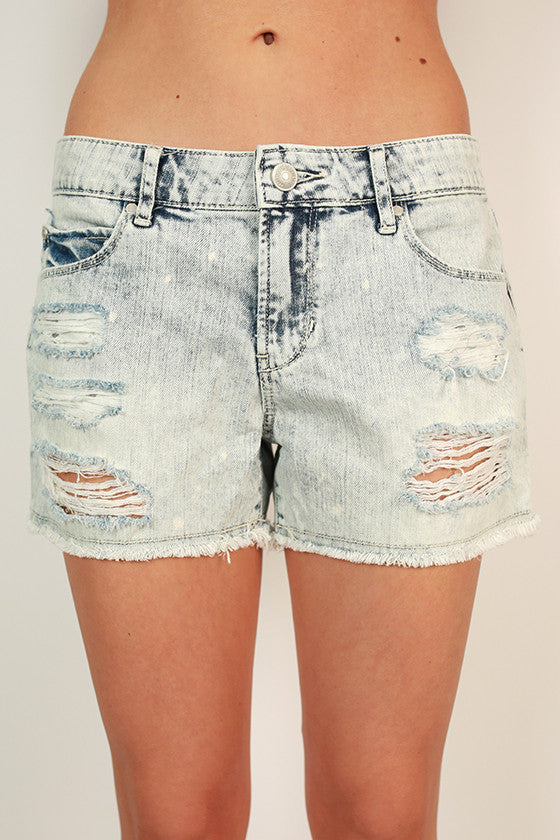 Madre Short in Acid Wash