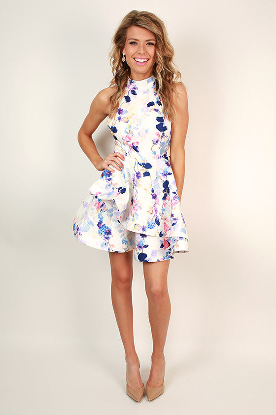 Floral Babe Fit & Flare Dress
