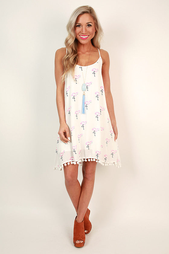 Padre Flamingo Tunic Dress