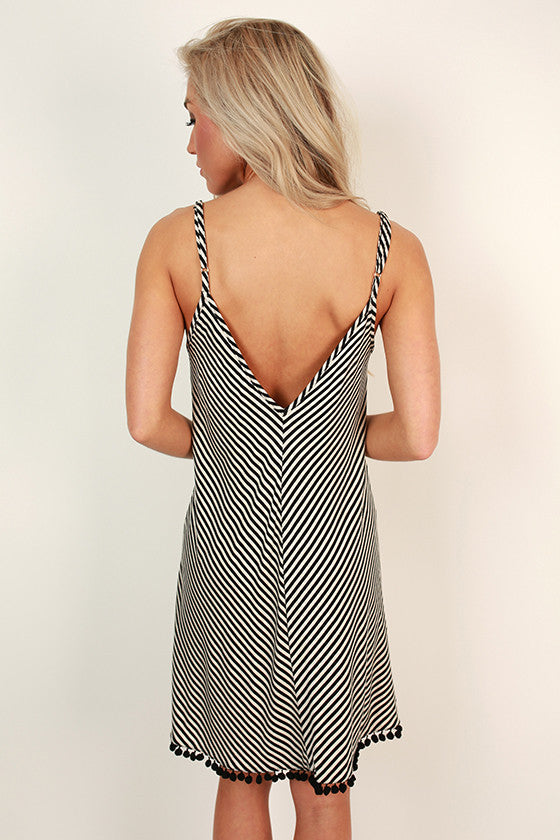 Love at First Sight Stripe Dress