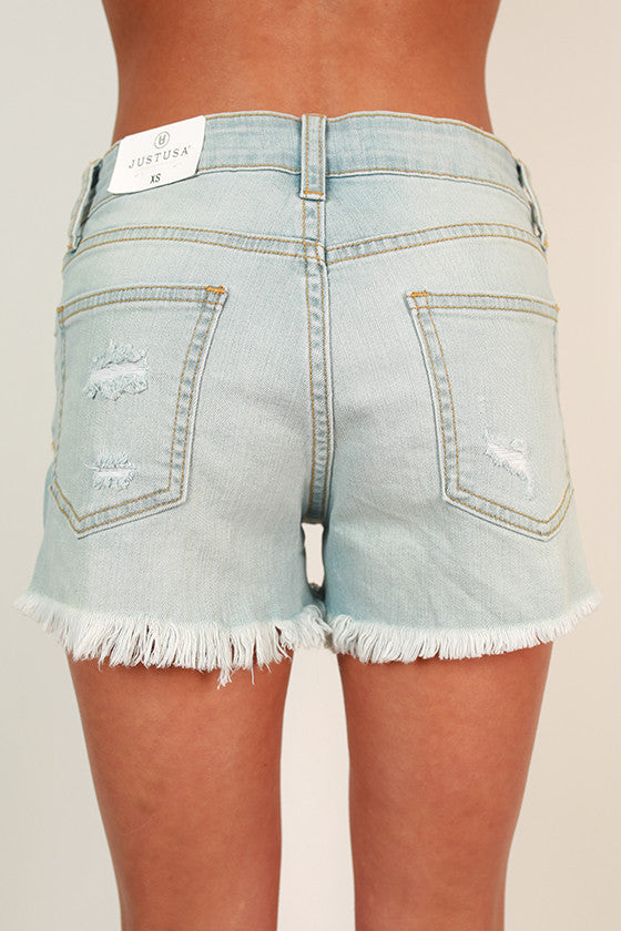 Luxe Livin' Denim Shorts