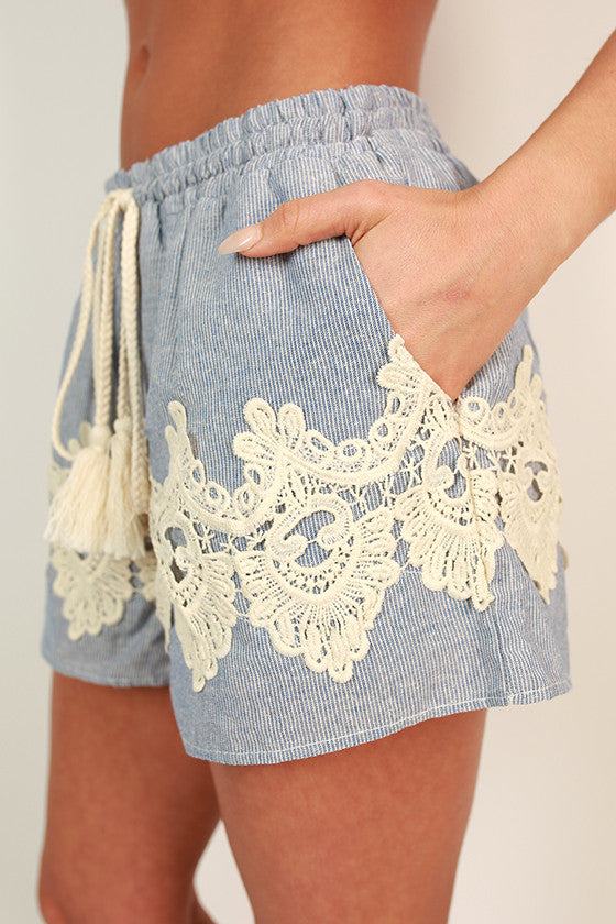 Beachside Beauty Shorts