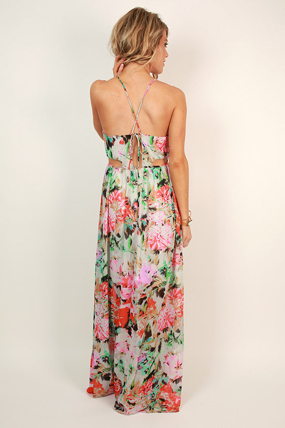 Field of Floral Maxi Dress
