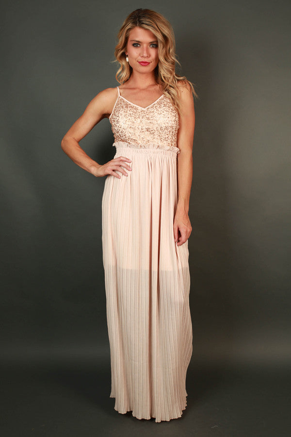 Glam it Up Sequin Maxi