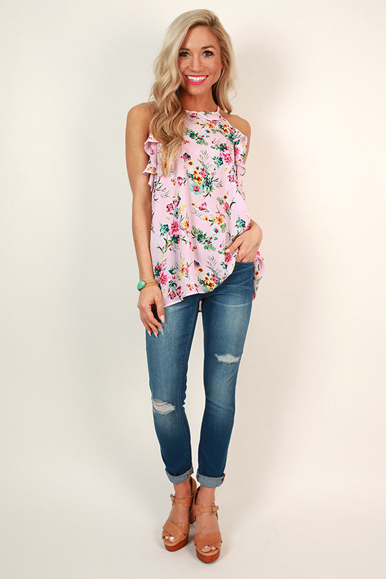 Florence Gardens Floral Tank