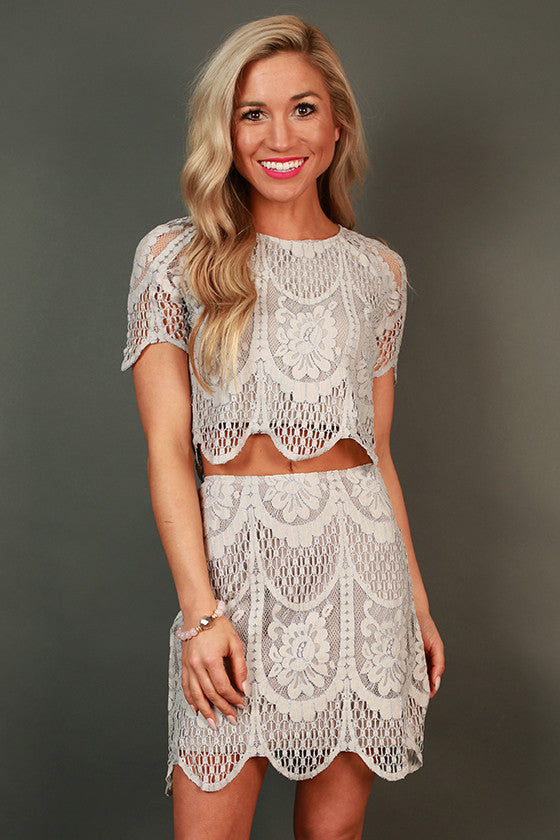 Lily in Love Lace Top